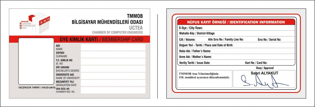 BMO Kimlik kartı Tasarımı
