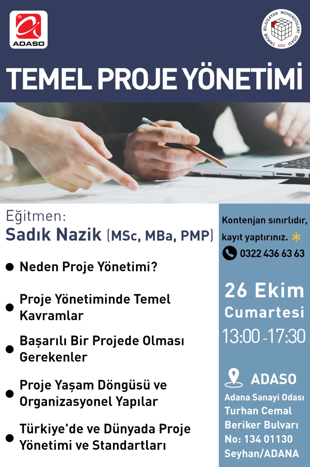 AdanaTemelProjeYonetimiSemineri_26-10-2019