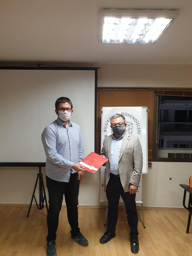Okan Öztürkmenoğlu ve Ferzan Yalkut İzmir Temsilciliği'nde