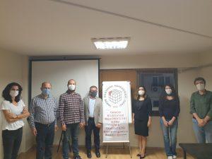 5. Dönem BMO İzmir Temsilcilik Kurulu üyeleri İzmir Temsilciliği'nde